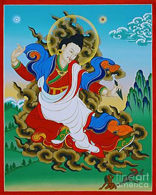 Tantra Painting - Kharchen Pelgi Wangchuk by Sergey Noskov