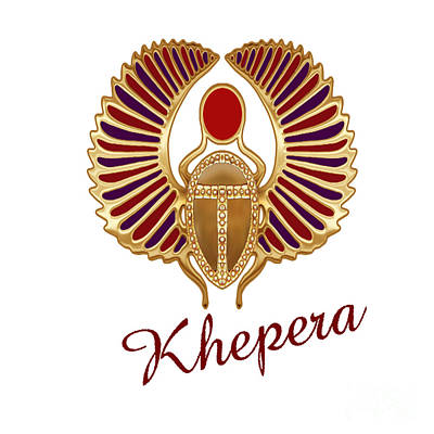 Liberation Digital Art - Khepera  by Respect the Queen