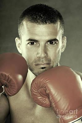 Kick Boxer Photograph - Kickboxer by Oleksiy Maksymenko