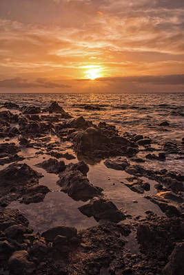 Kihei Sunset 2 - Maui Hawaii Print by Brian Harig