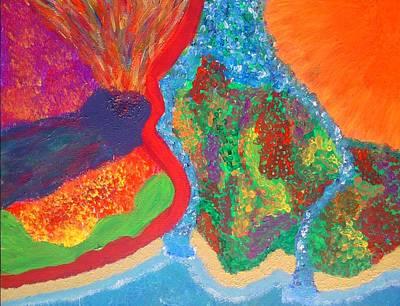 Pele Painting - Kilauea by Charles  Jennison