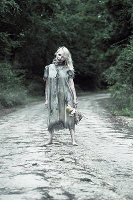 Zombie Photograph -  Welcome To Bowden Road by Karen StClaire