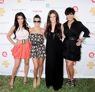Kim Kardashian, Kourtney Kardashian Print by Everett