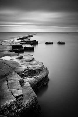 Kimmeridge Bay II Print by Nina Papiorek