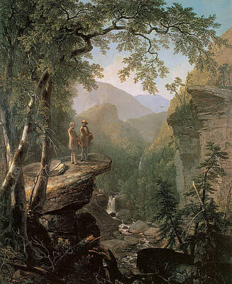 American Artist Painting - Kindred Spirits by Asher Brown Durand