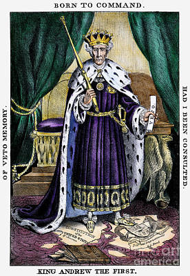 King Andrew The First Print by Granger