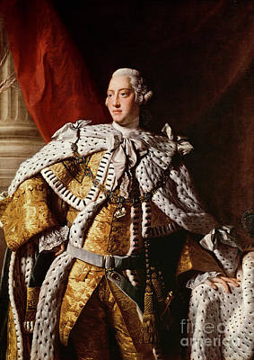 England Painting - King George IIi by Allan Ramsay