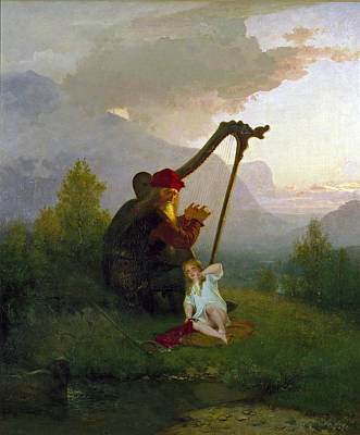 Painting - King Heimer And Aslog by August Malmstrom