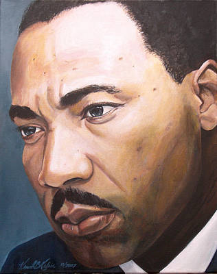 Martin Luther King Jr Painting - King by Kenneth Kelsoe