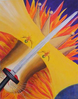 Lion Of Judah Painting - King Of Kings by Deborah Brown Maher