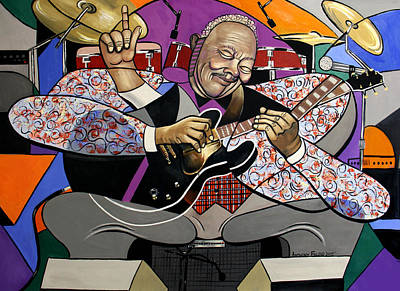 Digital Art - King Of The Blues by Anthony Falbo