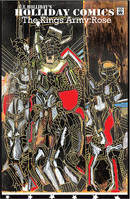 Kings Army Rose Print by George Holliday