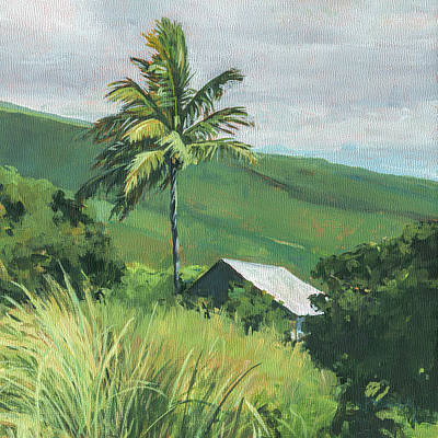 Kipahulu Off The Grid Print by Stacy Vosberg