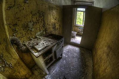 Barrack Photograph - Kitchen With A Loo by Nathan Wright