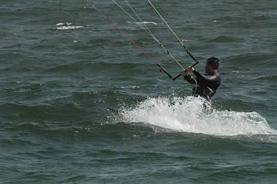 Kite Surfing 28 Print by Joyce StJames