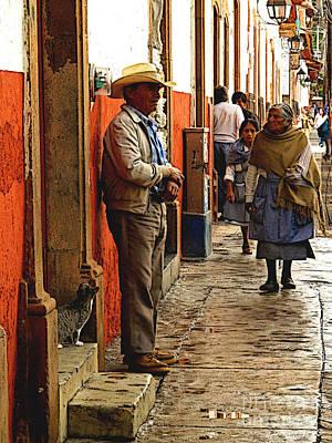Mazatlan Photograph - Kitten In The Doorstep, Patzcuaro by Mexicolors Art Photography