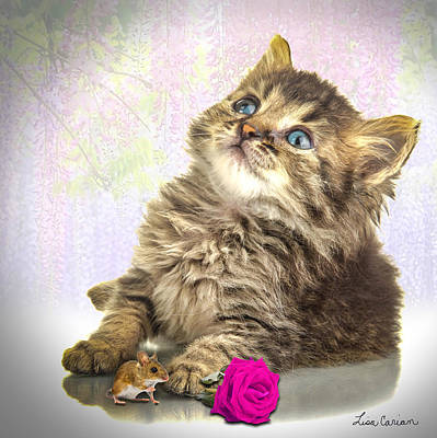 Kitty Love Original by Lisa Carian