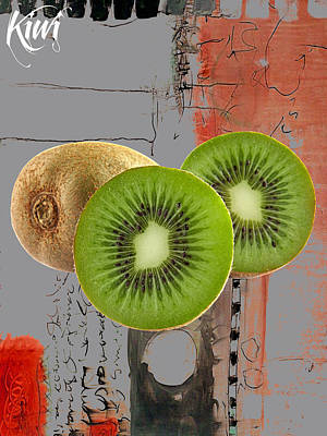 Kiwi Mixed Media - Kiwi Collection by Marvin Blaine