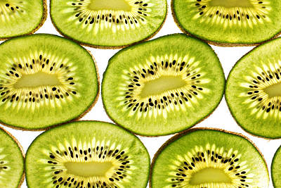 Kiwi Fruit II Print by Paul Ge