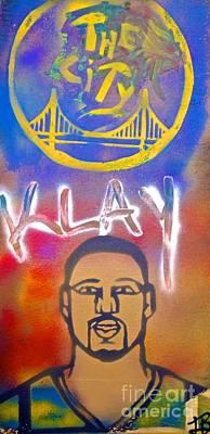 Klay Thompson #2 Original by Tony B Conscious