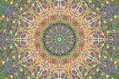 Mandala Painting - Knee High Boots Mandala by John Groves