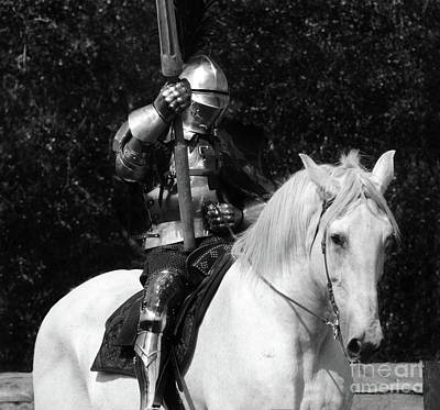 Renaissance Fairs Photograph - Knights Of Old 14 by Bob Christopher