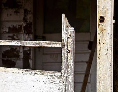 Screen Doors Photograph - Knock Knock by Tim Fitzwater