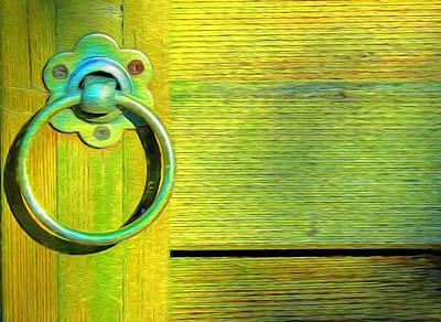 Knock On My Door Print by Georgiana Romanovna