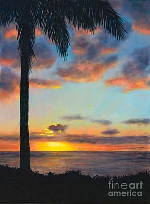 Ko Olina Sunset Original by Pati O'Neal