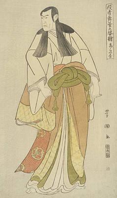 Ko Raiya Print by Utagawa Toyokuni