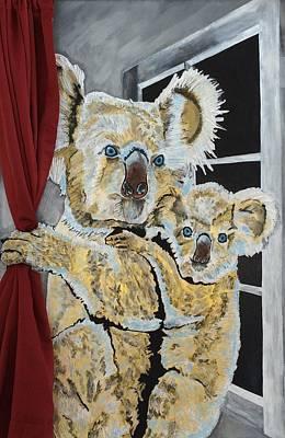Koalas Original by Sammy Snow