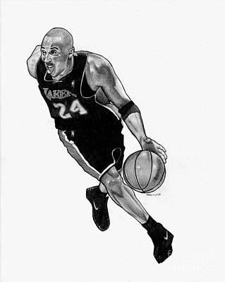 Kobe Print by Ben Henderson
