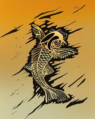 Koi 2 Print by Jeff DOttavio