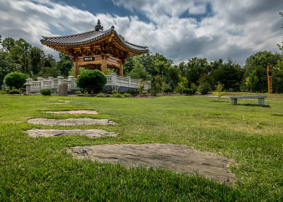 Meadowlark Digital Art - Korean Bell Garden by Rafael Suanes