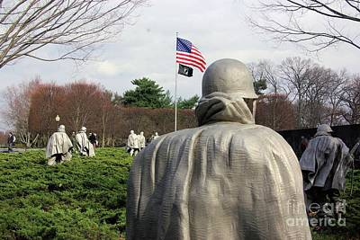 Washingtondc Photograph - Korean War Memorial  by John S