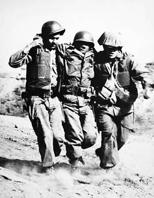 Photograph - Korean War: Pork Chop Hill by Granger
