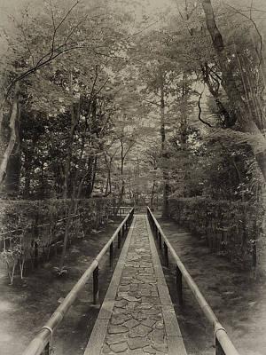 Koto-in Zen Temple Forest Path - Kyoto Japan Print by Daniel Hagerman