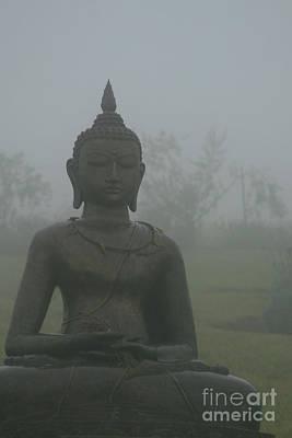 Kuan Yin Bodhisattva Guanyin Goddess Of Mercy Print by Sharon Mau