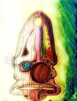 Bipolar Digital Art - Smeshnoy by Jonathan Burdett