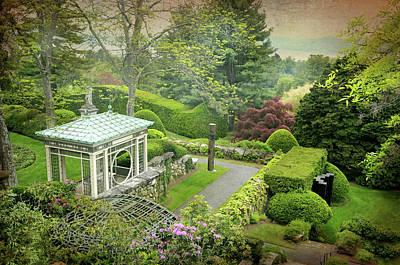 Kykuit Garden Print by Diana Angstadt