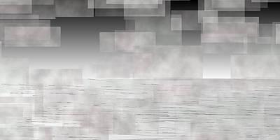 Cloud Digital Art - L20-217 by Gareth Lewis