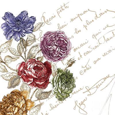 La Belle Vie I  Print by Mindy Sommers