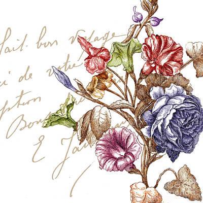 La Belle Vie II Print by Mindy Sommers