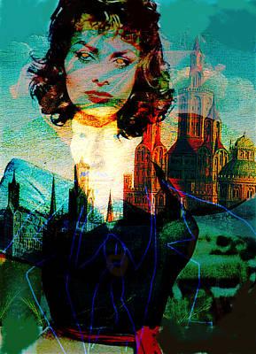 la dispositif sexuelle ma Sophia  Print by Paul Sutcliffe
