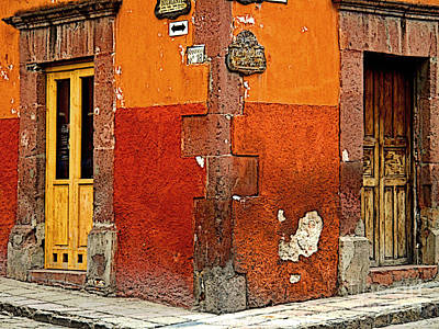Portal Photograph - La Esquina 2 by Mexicolors Art Photography