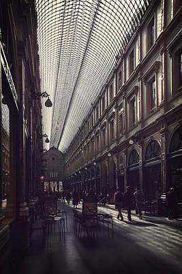 Bruxelles Photograph - Les Galeries Brussels by Carol Japp