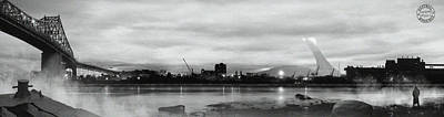 Canadiens Digital Art - La Grande Ile by Mirage Noir