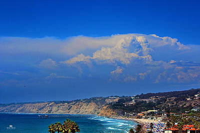 Thunderhead Photograph - La Jolla Shores Thunderhead by Russ Harris