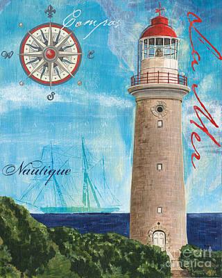 Light House Painting - La Mer by Debbie DeWitt