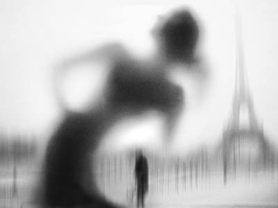 Paris Photograph - La Parisienne by Eric Drigny